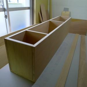 タモ突板家具