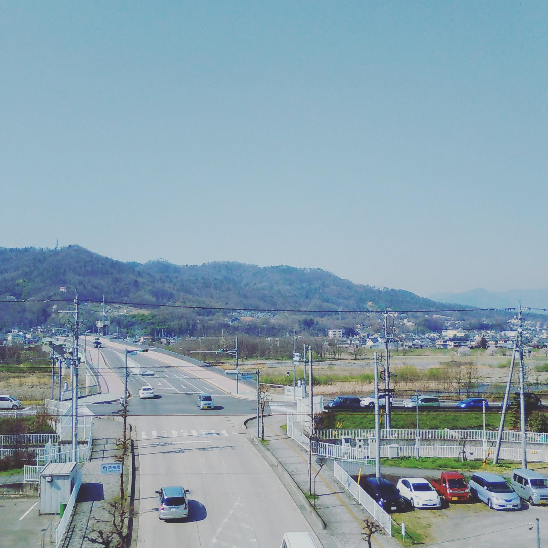 上田市の空